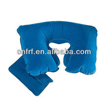 PVC Inflatable Travel Neck Pillow