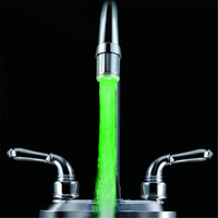 Water Stream single green color water saving aerator
