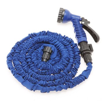 expandable garden water hose with spray gun magic hose as seen on tv. Black Bedroom Furniture Sets. Home Design Ideas