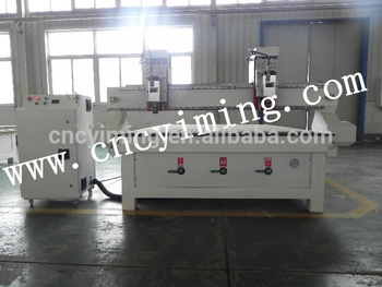 Two spindle wood carving machine from china