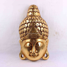 ZX00016J 2017 Spring Buddha Item Wall Hanging Buddha Head Resin Crafts Polyresin Home Decoration Gifts
