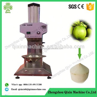fresh coconut peeling machine/coconut cutting machine