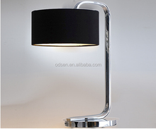 custom cheap modern steel table lamps for hotel