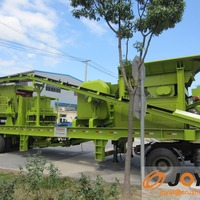 Low Cost High Efficiency Mobile Crusher