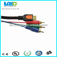wholesale factory price hdmi to component video audio av cable