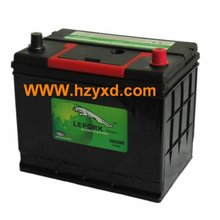 Leopard Car Battery 55D26L 12V/60AH