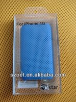 PVC/PET clear phone case packing, mobile accessories