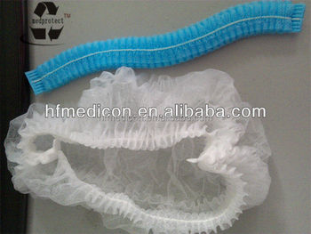 disposable surgical non-woven colorful clip cap