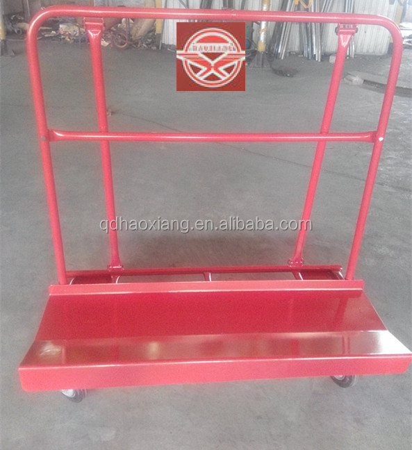 drywall cart,panel dolly ,panel cart TC6117 with 2 swivel wheel and 2 fixed wheel