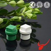 cheap machine water pipe fittings sizes plastic bottle cap/ ppr pipe plug
