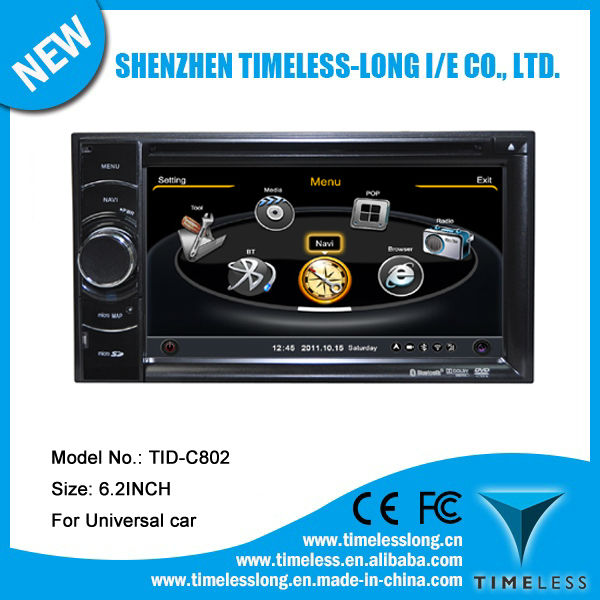 S100 Car RADIO DVD for Universal car with A8 chipest, gps, bluetooth, sd, ipod, 3g, wifi