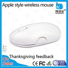VMW-05 2.4ghz computer custom slim wireless mice with large space for printing logo