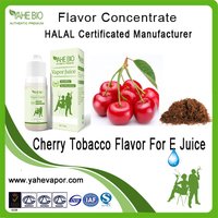 High quality cherry tobacco flavor concentrate for vape liquid making tobacco flavors in PG/VG base