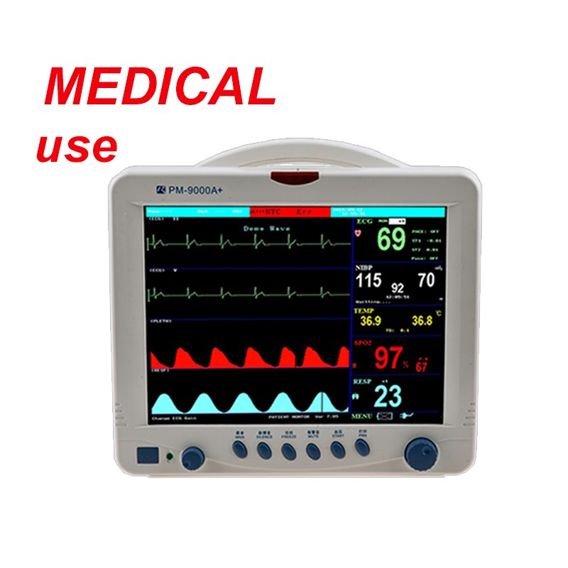 China Supplier 6 Parameters Rapid Test Medical Patient Monitor