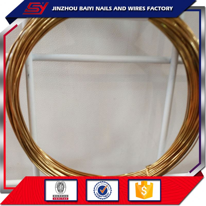 Oem Service Good Quality Brass Steel Rebar Tie Wire For The Reinforcement