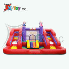 New Super Mario Inflatable Bouncer Slide With Pool