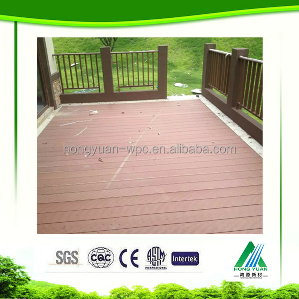 China building materials prices cheap tile Plastic outdoor deck flooring,wood plastic composite price,plastic dock decking