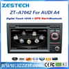 ZESTECH car sat navi head unit for audi a4 dvd gps navigation radio tv bluetooth ipod