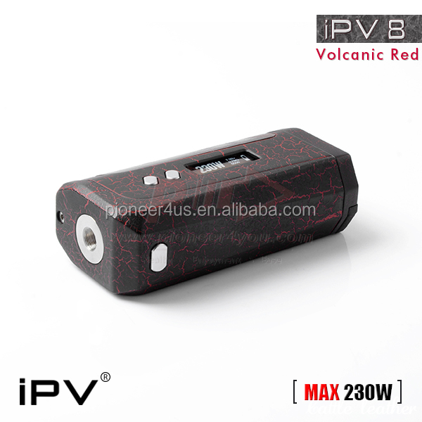 Best Performance Authentic Pioneer4you IPV8 IPV 8 230w BOX MOD FOR RDA RBA RDTA DIY Atomizer