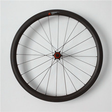 super light 700c 35mm height 25mm width clincher carbon wheel road bicycle wheels 29er carbon wheelset