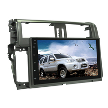 android 7.1with 32G car dvd radio For Toyota Prado 2010 car gps navigation android