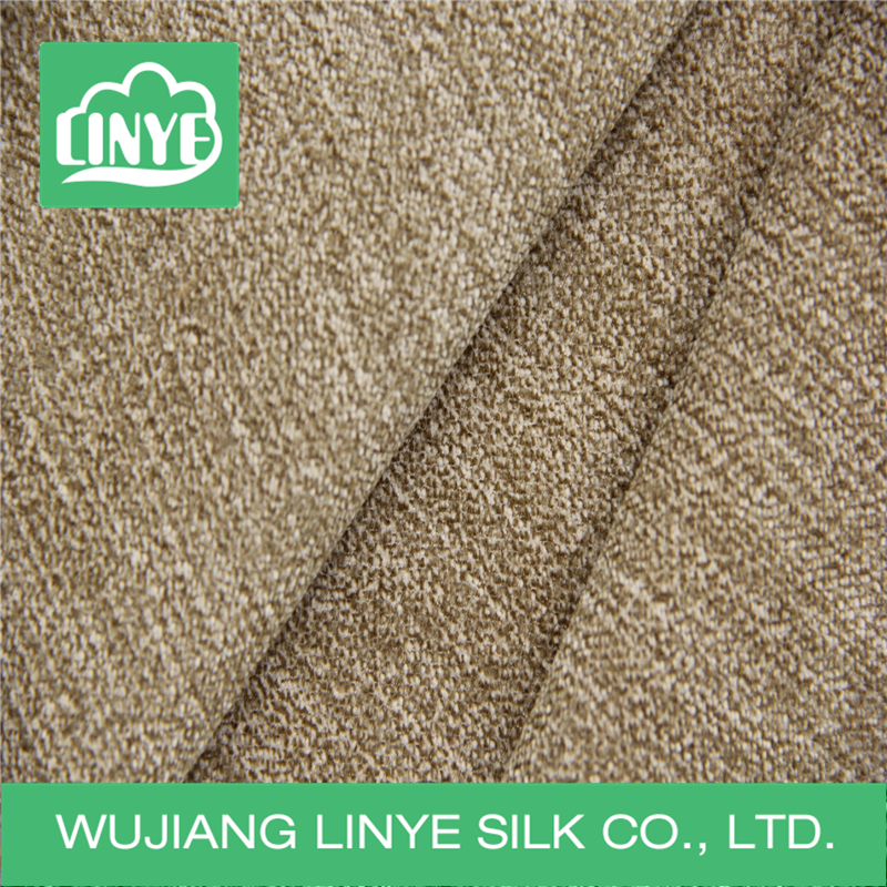 factory promotion high quality dyeing silk corduroy fabric
