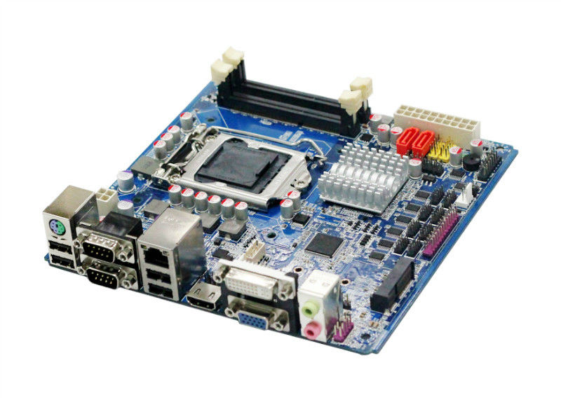 gaming desktop computer i7 motherboard 1155 ethernet Lan 10*COM mainboard with 16GB ddr3 industrial embedded board
