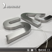 Wholesale customized laser cut alphabet led metal letters for signs