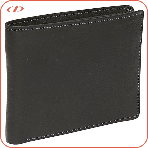 Wholesale RFID blocking genuine wallet leather for men