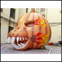NB-HW3005 lighted inflatable pumpkin /Halloween decoration / inflatable halloween products