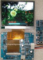 Factory direct 3.5 inches TFT LCD color monitor 320*RGB*240 PV-TFT035S13C_JSC