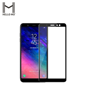 Explosion-proof tempered glass film 9H full cover glass 3d curved tempered glass screen protector for samsung A6