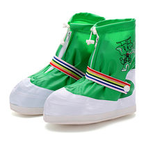 Factory price new style kids plastic rubber rain boot