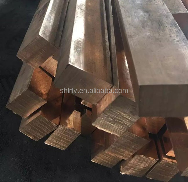 Special-shaped CuSn4 DIA 45MM BRONZE BAR COPPTin Phosphor Bronze Bar / Bronze Rod C51900, C52100 C51100 C51000 C54400