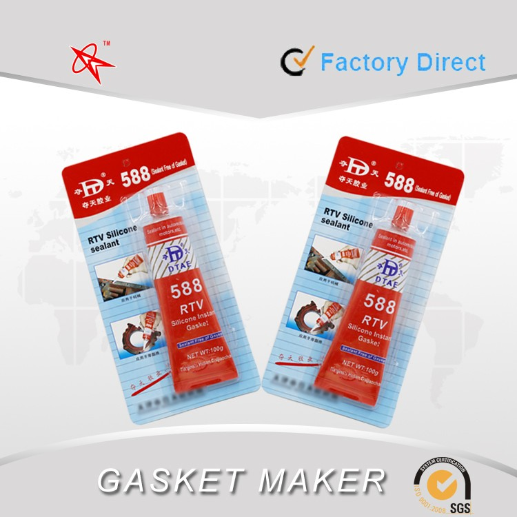 588 RTV silicon gasket maker/silicone sealant for car and automobile
