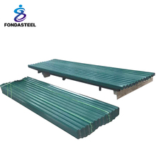 0.7 mm thick aluminum zinc roofing corrugated sheet steel machine make