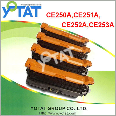 Yotat color toner for HP CE250A-CE253A