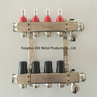 Hydronic Floor Heating Water Manifolds ,Water Manifold for Hydronic Radiant Floor Heating Systems