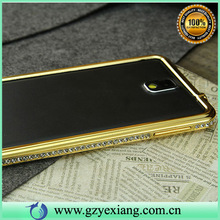 Diamond metal bumper case for samsung galaxy note 3 n9000