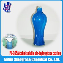 Alcohol-soluble air-drying glass coating PU-365