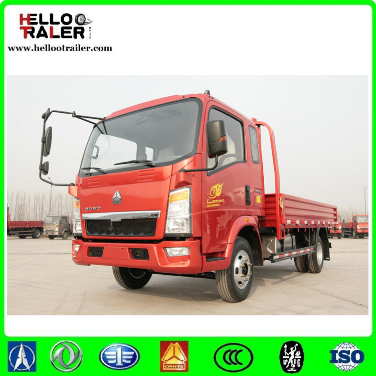 HOWO 5000kg 4x2 light truck