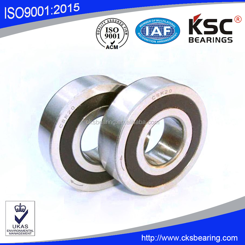 one way ball bearing CSK15-2RS csk series deep groove ball bearings