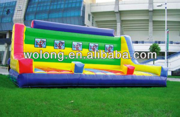 Popular Best Selling Durable HOT Inflatable sports equipment / inflatable basketball court