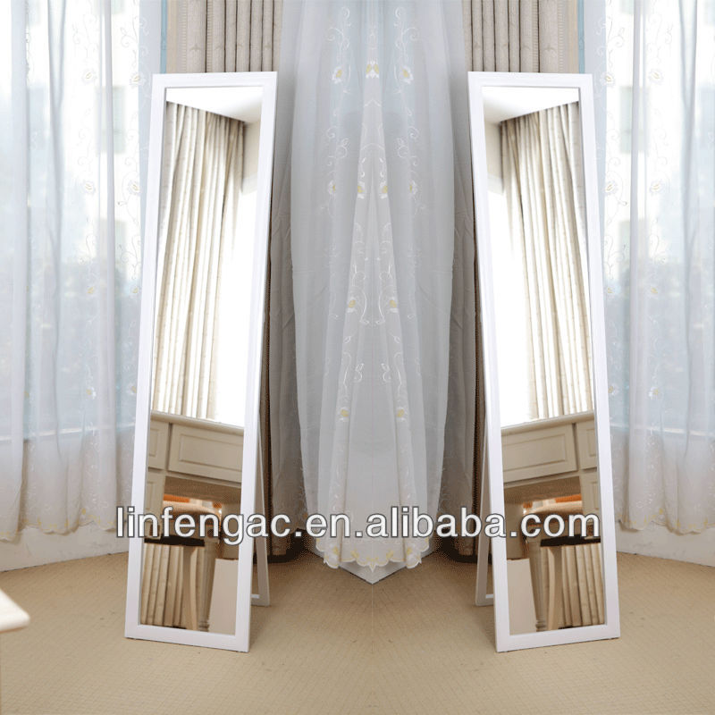 goedkope staande grote decoratieve ontwerp moderne spiegel