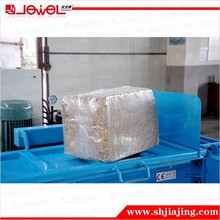 square compress raw and hay baler machine