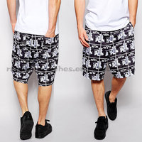 with Andy Warhol Repeat Print Mesh Wholesale Mesh Shorts