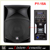 15 Inch professional active portable ABS speaker box PY-15A