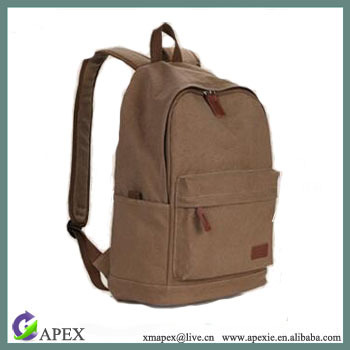 Hot Sales Casual School Canvas Backpack