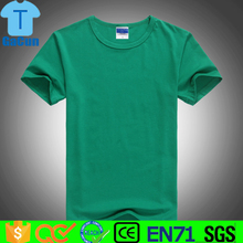 New fashion high quality cotton mens t shirts for custom printing