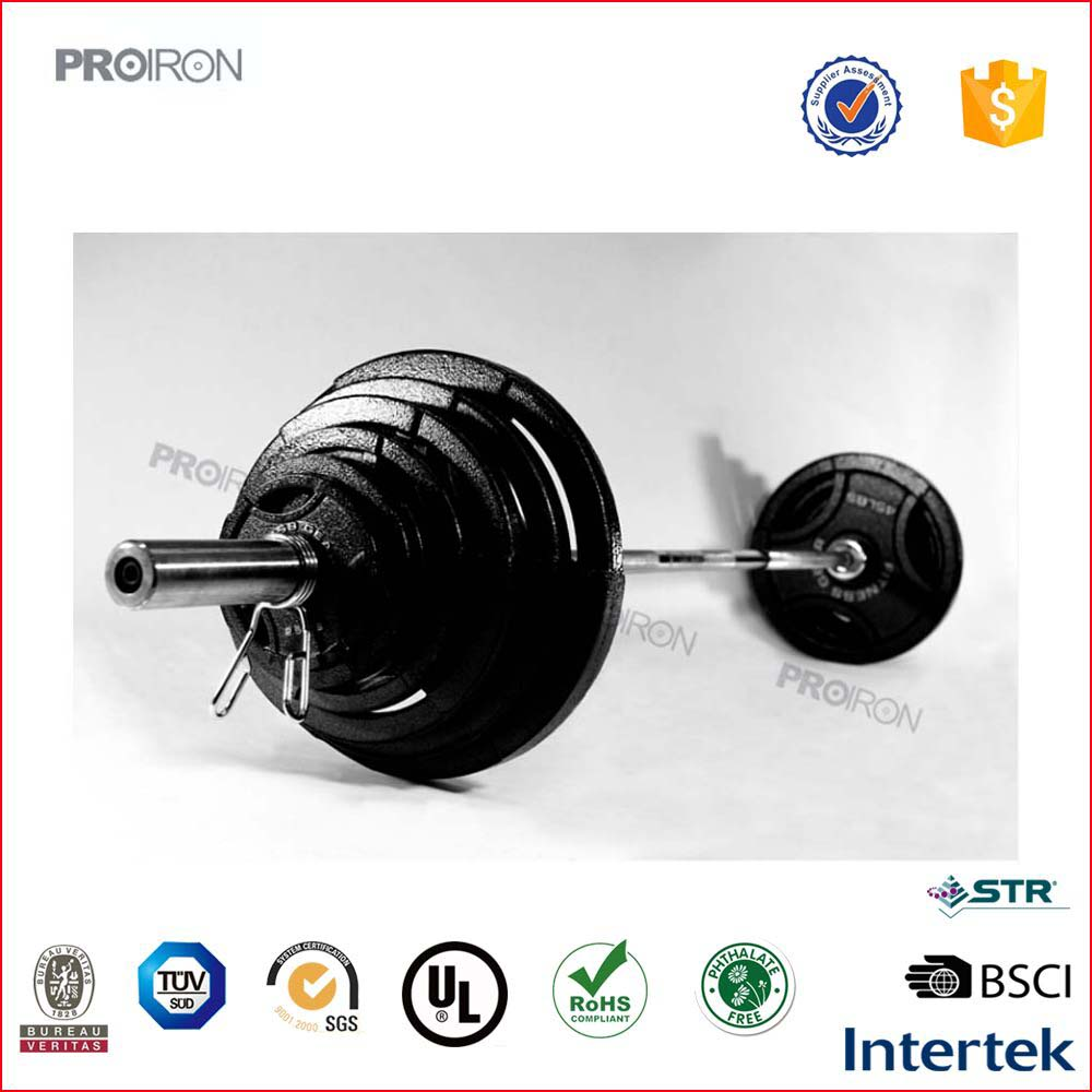 Wholesale free weight barbell weight set 300LB